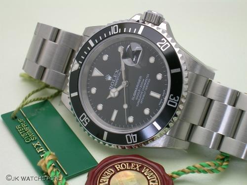 ROLEX SUBMARINER 16610 NOS 2003