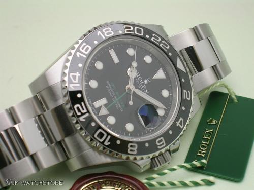 ROLEX GMT MASTER II 116710LN  2011 NOS