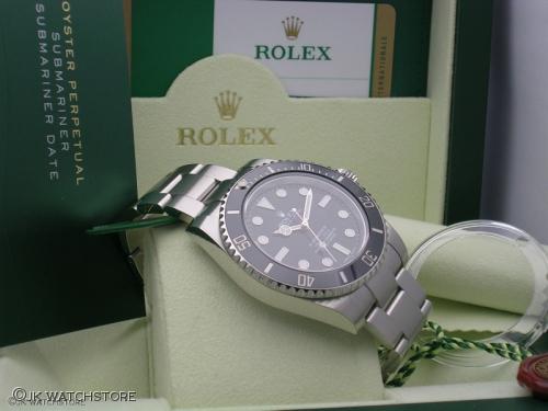ROLEX SUBMARINER 114060 2014