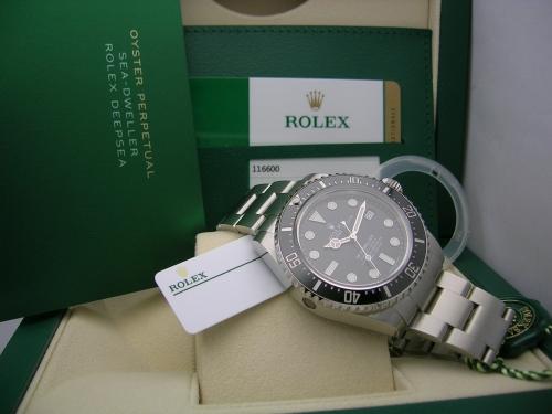 ROLEX SEADWELLER 4000  116600 2017 NOS