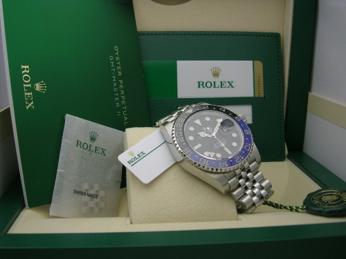ROLEX GMT-MASTER II  126710BLNR 2019