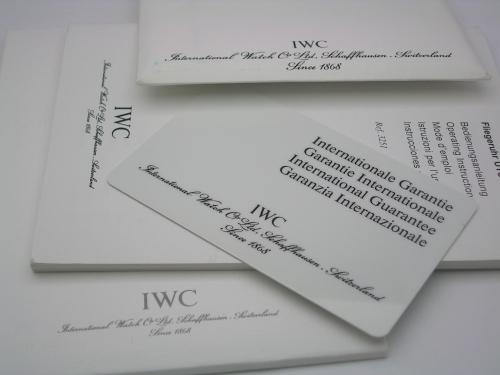 IWC 3251  UTC PILOTS WATCH  2001