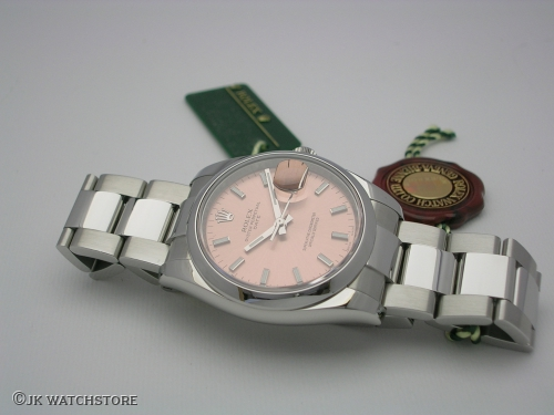 ROLEX DATEJUST 115200 2010 PINK DIAL
