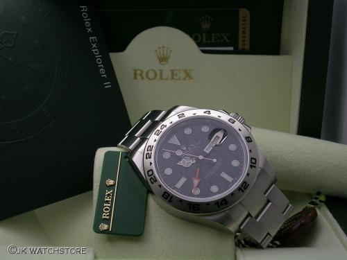 ROLEX EXPLORER II 216570 2011