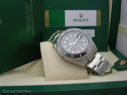 ROLEX SEADWELLER RED 126600 2019