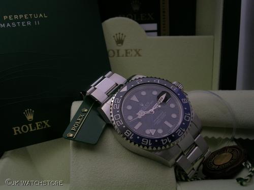 ROLEX GMT-MASTER II 116710BLNR 2014