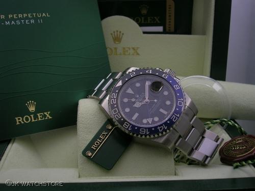 ROLEX GMT-MASTER II 116710BLNR 2013