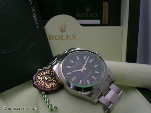 ROLEX MILGAUSS 116400GV 2010