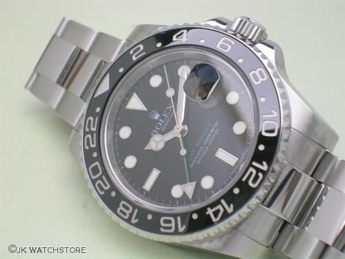 ROLEX GMT-MASTER II 116710LN 2008