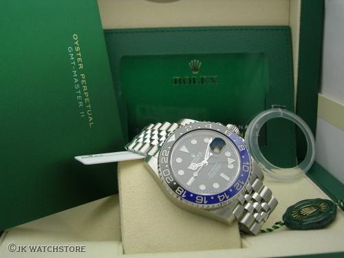 ROLEX GMT-MASTER II  126710BLNR 2020