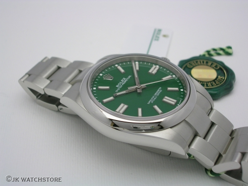 ROLEX OYSTER PERPETUAL 124300 41MM NEW MODEL 2020