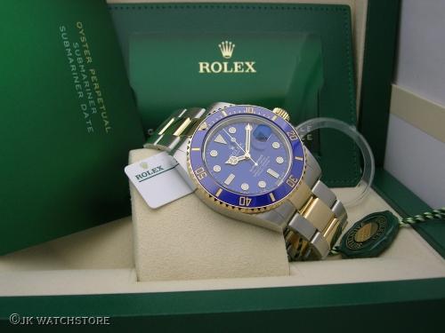 ROLEX SUBMARINER 41MM 126613LB  NEW MODEL 2020