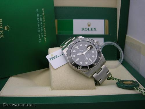 ROLEX SUBMARINER 116610LN 2020 NOS