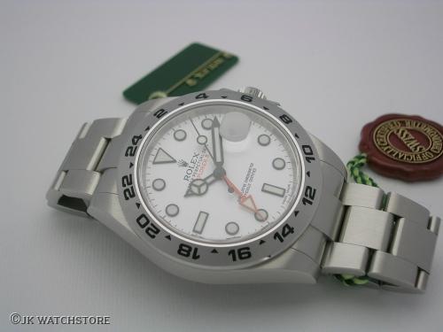 ROLEX EXPLORER II 216570 2012