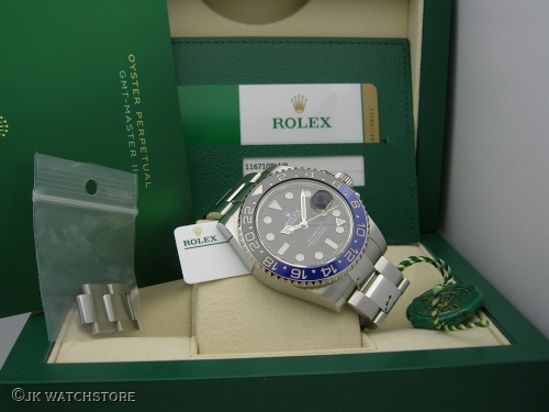 ROLEX GMT-MASTER II  116710BLNR 2018