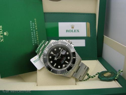 ROLEX SEADWELLER RED 126600 2020