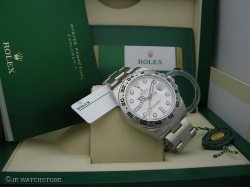 ROLEX EXPLORER II 216570 2020