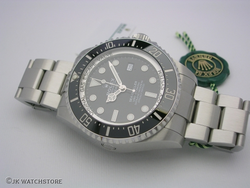 ROLEX DEEPSEA 126660 2021 BLACK INDEX