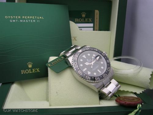 ROLEX GMT-MASTER II 116710LN 2013