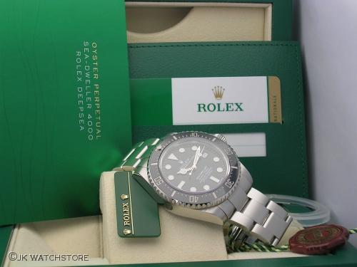 ROLEX SEADWELLER 116600 2014