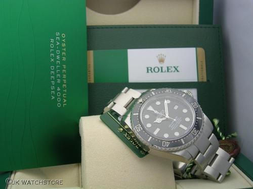 ROLEX SEADWELLER 116600 2015