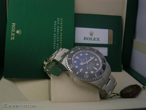 ROLEX DEEPSEA 116660 DEEP BLUE 2014