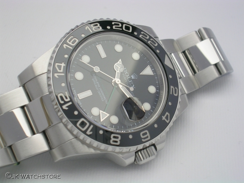 ROLEX GMT-MASTER II 116710LN 2010