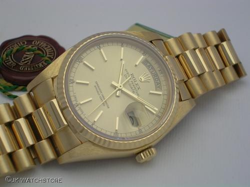 ROLEX DAY DATE 18038 1982