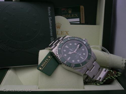 ROLEX SUBMARINER 116610LV 2011