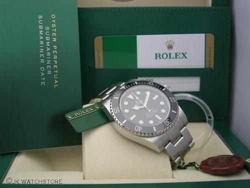 ROLEX SUBMARINER 114060 2015