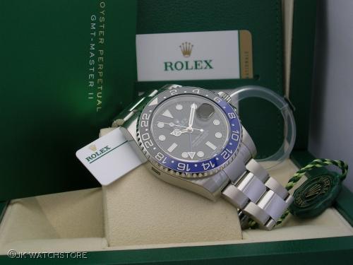 ROLEX GMT-MASTER 116710BLNR 2016 NOS