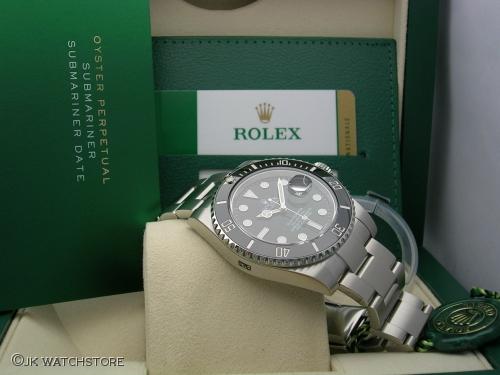 ROLEX SUBMARINER 116610LN 2017 NOS