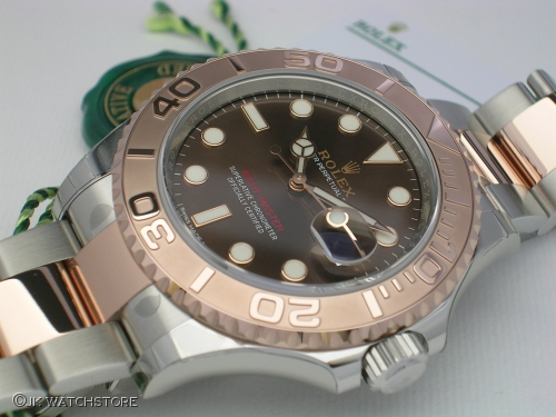 ROLEX YACHTMASTER 116621 2017 NEW MODEL ROSEGOUD CHOCOLATE DIAL