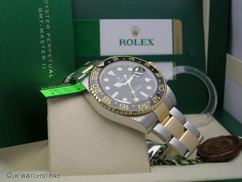 ROLEX GMT-MASTER II 116713LN 2014