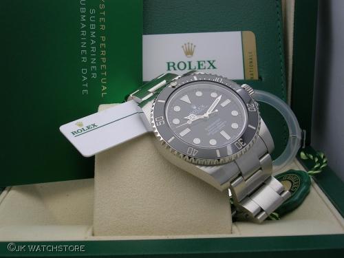 ROLEX SUBMARINER 114060 2017
