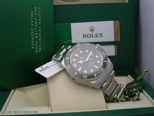 ROLEX SEADWELLER 116600 2017 NOS