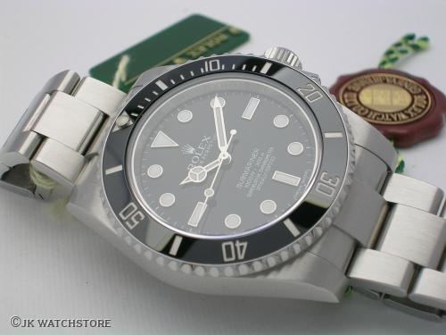 ROLEX SUBMARINER 114060 2012