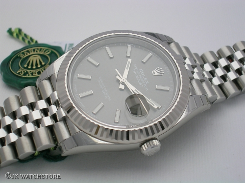 ROLEX DATEJUST II 126334 NEW MODEL DARK RHODIUM