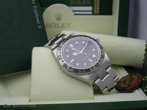 ROLEX EXPLORER II 16570 3186 2011