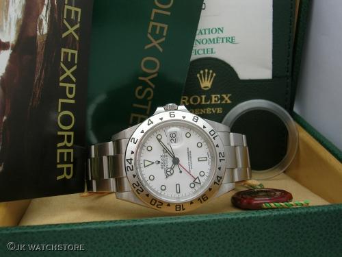 ROLEX EXPLORER II 16570 2002