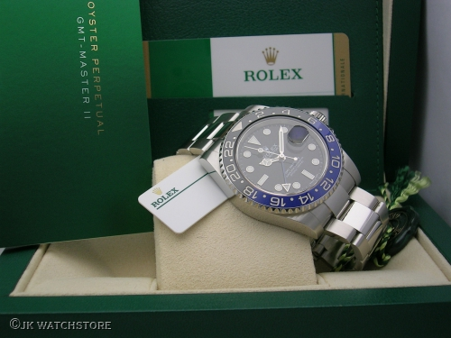 ROLEX GMT-MASTER 116710BLNR 2016