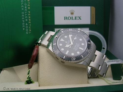ROLEX SEADWELLER 116600 2014 NOS