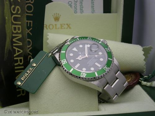ROLEX SUBMARINER 16610LV 2005