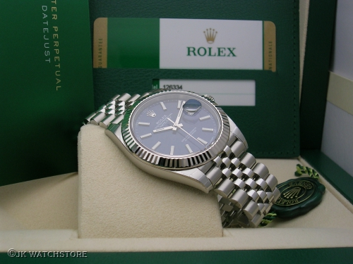 ROLEX DATEJUST II 126334 BLUE DIAL