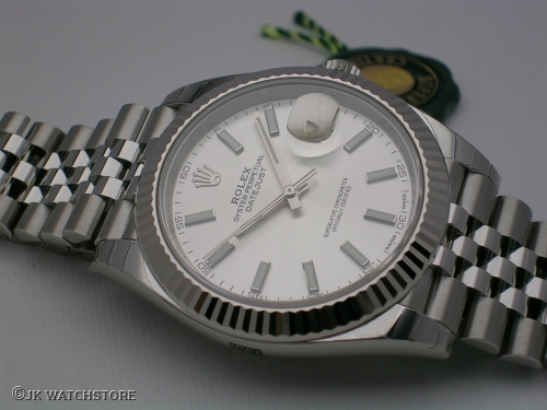 ROLEX DATEJUST II 126334 SILVER DIAL