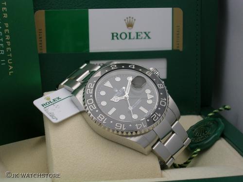 ROLEX GMT-MASTER II 116710LN 2017