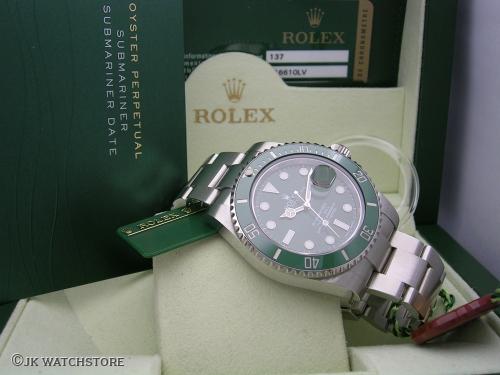 ROLEX SUBMARINER 116610LV 2013