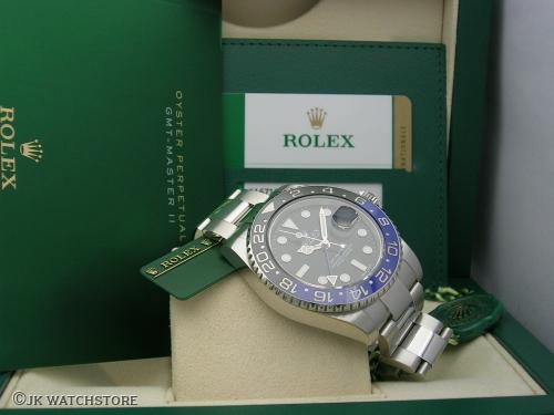 ROLEX GMT-MASTER II 116710BLNR 2015