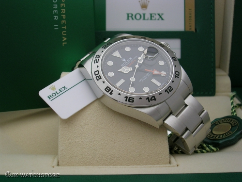 ROLEX EXPLORER II 216570 2017