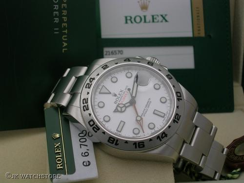 ROLEX EXPLORER II 216570 2014